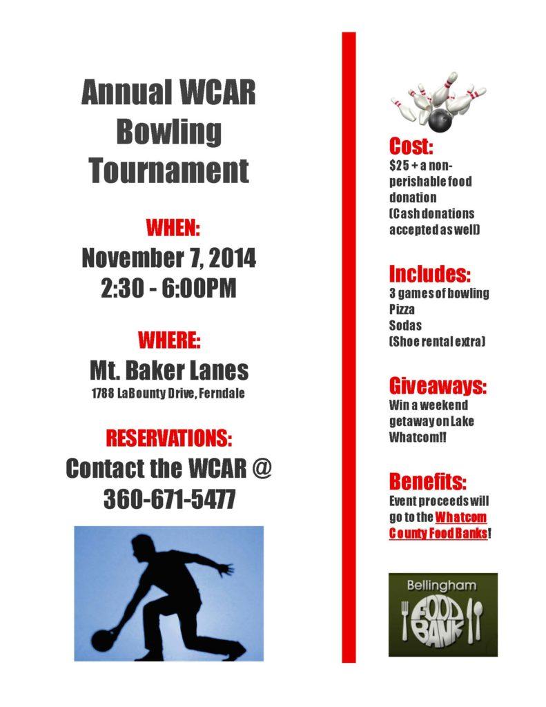 WCAR Bowling 2014